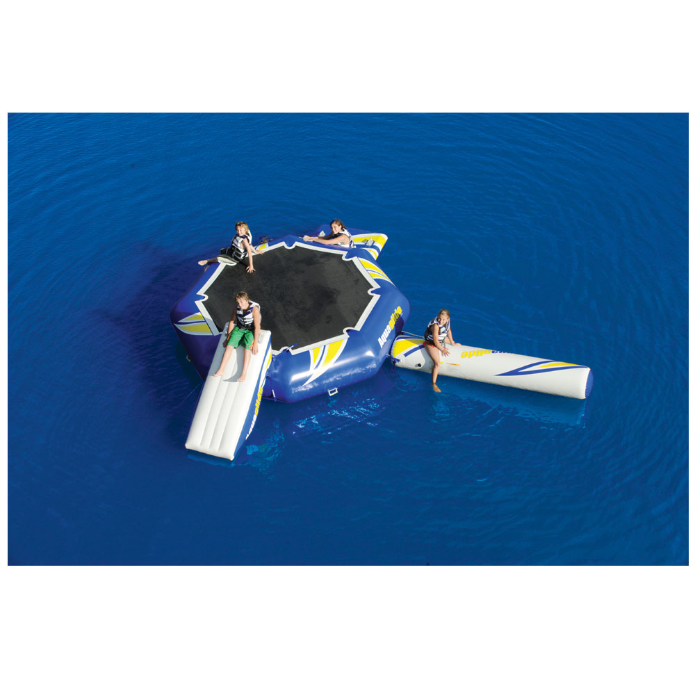 AQUAPARK REBOUND 12 SET W. SLIDE, I-LOG AQUAGLIDE 2017