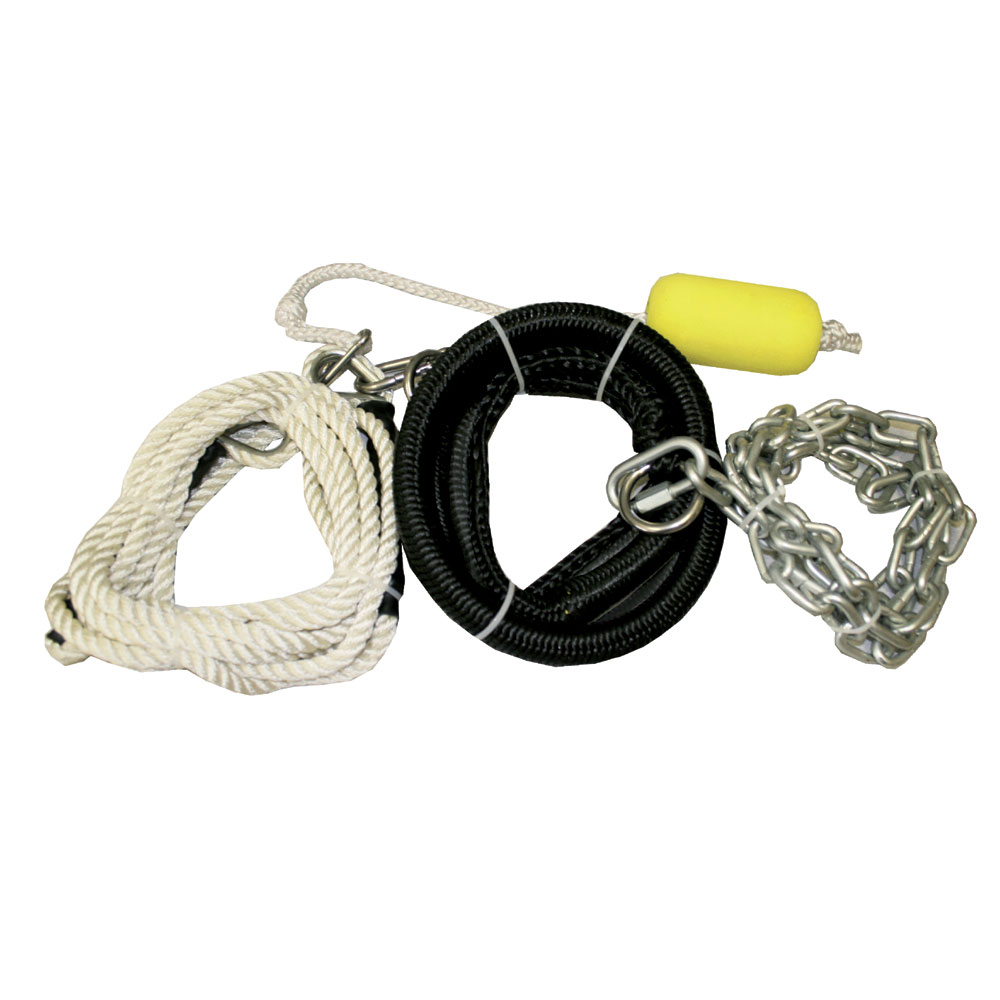 HD ANCHOR CONNECTOR MOORING LINE KIT AQUAGLIDE 2018