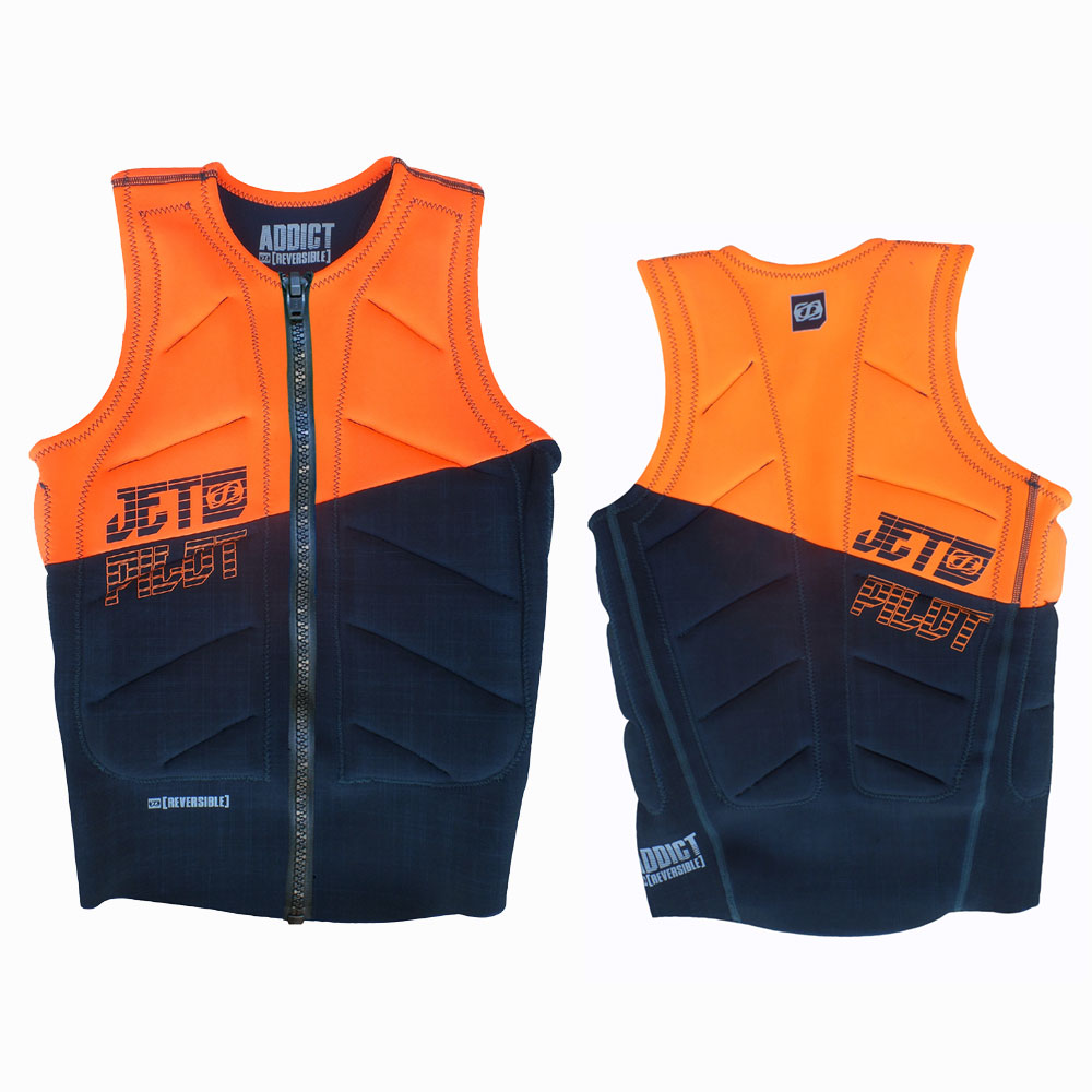ELITE FRONT ZIP REVERSABLE COMP VEST JETPILOT 2017