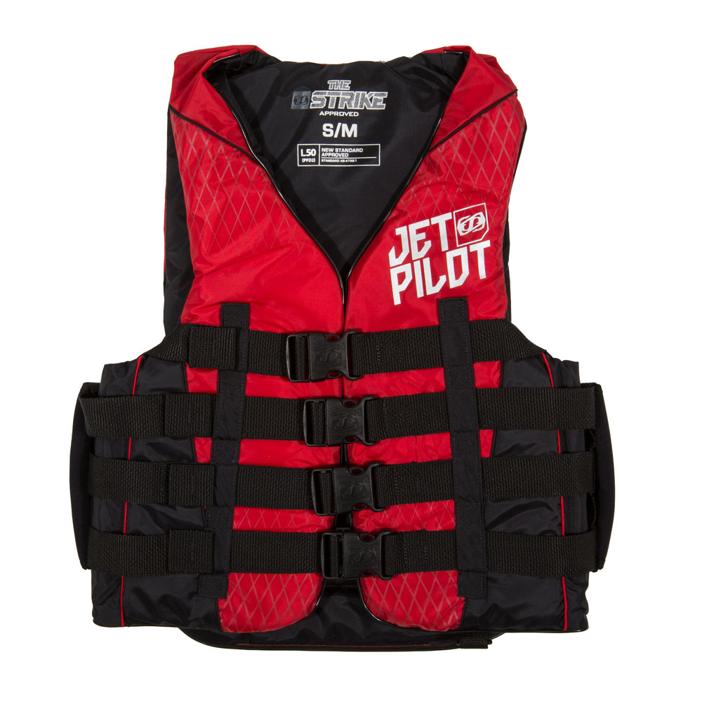STRIKE 50N NYLON VEST W. SUPER GRIP H. JETPILOT 2017